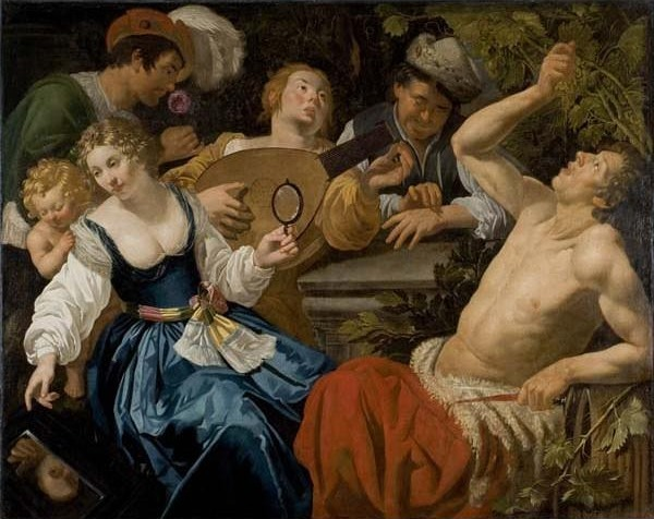 Jan van Biljert, 'The Five Senses', 17th century, Davis Museum