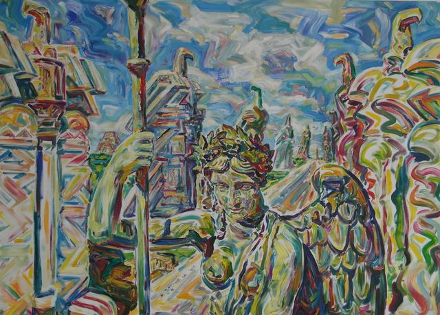 """, '""""Viktoria"""",' 2015, Krokin Gallery"""