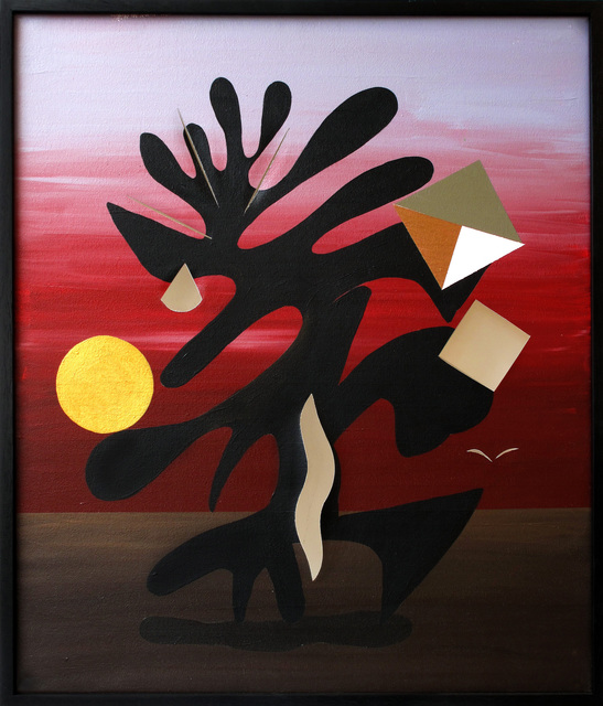 , 'Fantasía plegada (folded fantasy),' 2015, Nora Fisch