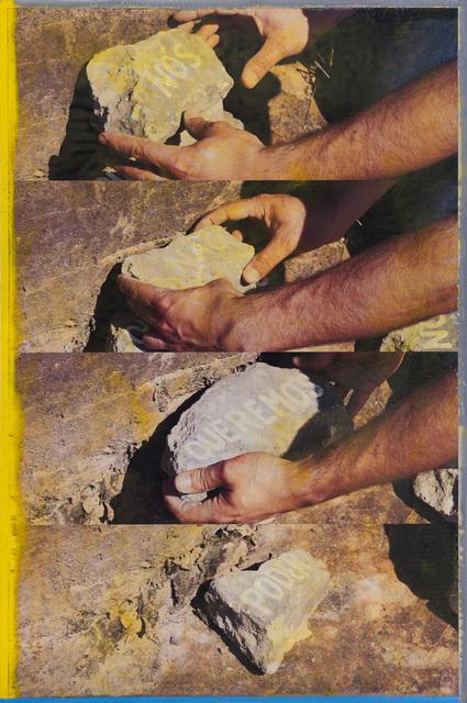 , 'Nós não queremos poder (Depois de Pasolini),' 2011, Quadrado Azul