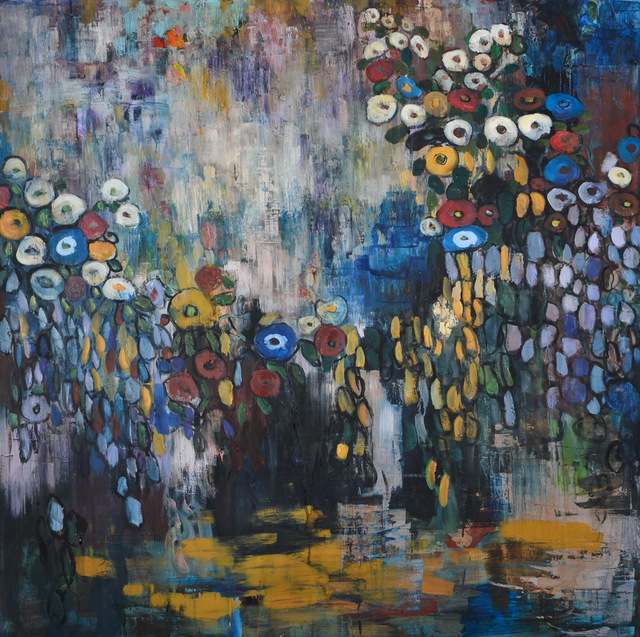 , 'Moody Garden,' 2018, Russell Collection