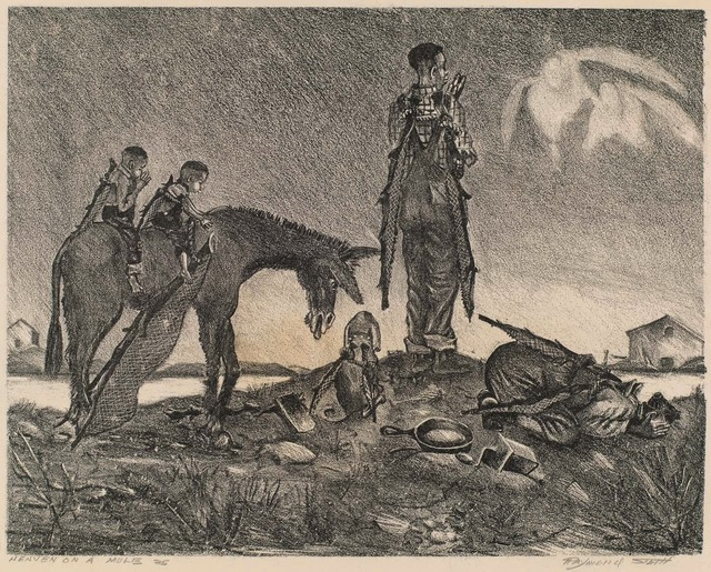 , 'Heaven on a Mule,' ca. 1940, Dolan/Maxwell