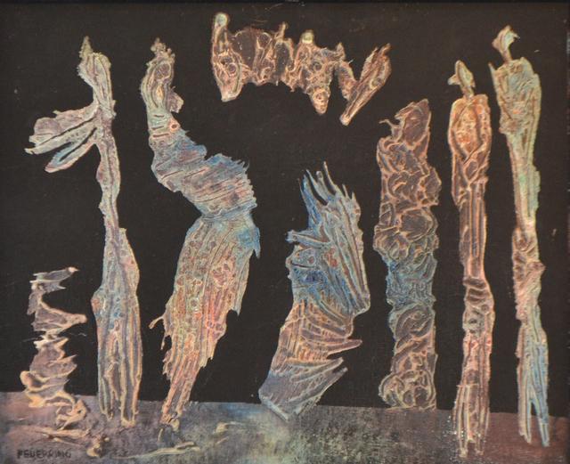 , 'Figures,' 1950, Charles Nodrum Gallery