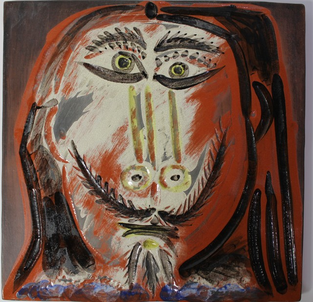 Pablo Picasso, 'Man's Head with Long Hair ', 1968, Hal Katzen Gallery