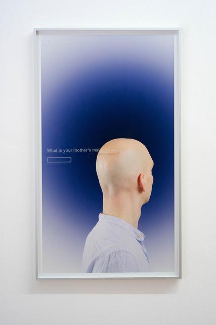 , 'GK,' 2015, Bernhard Knaus Fine Art
