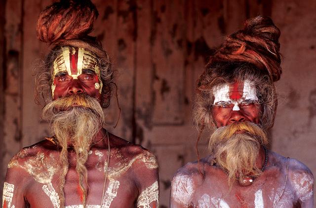 , 'Sadhu Brothers, Pashupatinath, Kathmandu, Nepal,' 2000, Octavia Art Gallery
