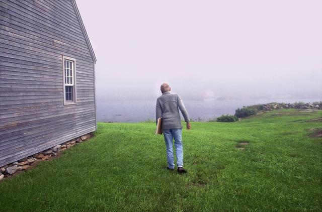 Harry Benson, 'Andrew Wyeth, Benner Island, Maine,' 1996, Contessa Gallery