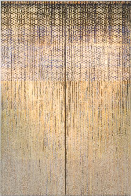 """, '""""Eclat d'Or"""", Diptyque,' 2016, Galerie Dutko"""