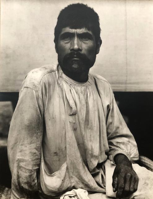 , 'Man, Tenancingo, Mexico,' 1930-printed 1950., Roland Belgrave Vintage Photography Ltd