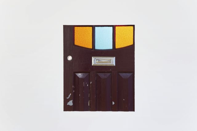 , 'Entrance door (Red and blue windows),' 2013, Galerie Jocelyn Wolff