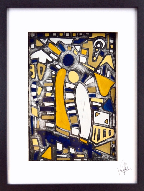 , 'Blaue Umarmung,' 2019, Contemporary Gallery CH