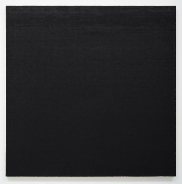 , 'Mark. 4 Black,' 1978, Lora Reynolds Gallery