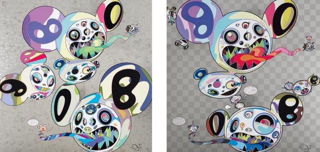 Takashi Murakami, 'Spiral; and Parallel Universe', 2014, Phillips