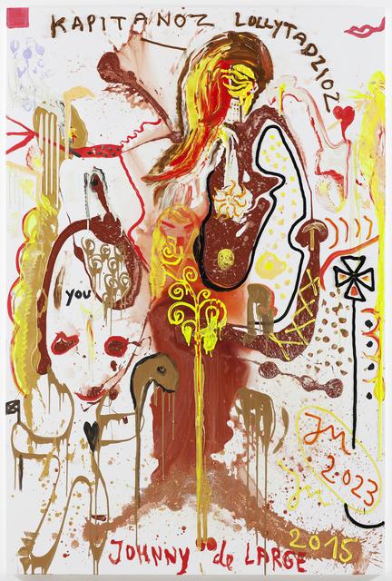 """, 'BLITZALL: IM GANZEN """"SONNENLICHT"""" VERKNALLT (QENNIEFRED),' 2015, Galerie Krinzinger"""
