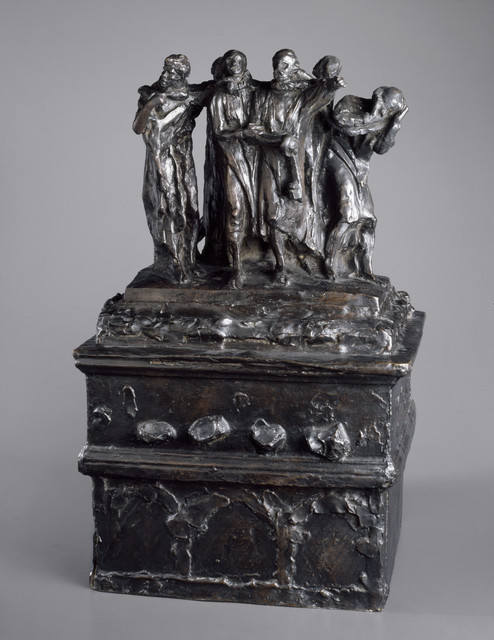 , 'Monument to the Burghers of Calais, First Maquette,' 1884, Brooklyn Museum