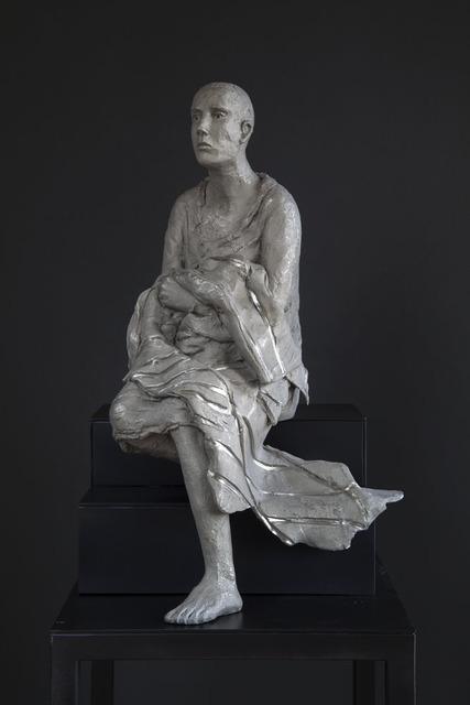 """, 'White bronze #134, """"untitled"""",' 2016, LKFF"""