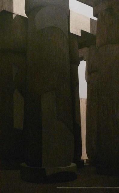 , 'Columns 5,' 2010, Hafez Gallery