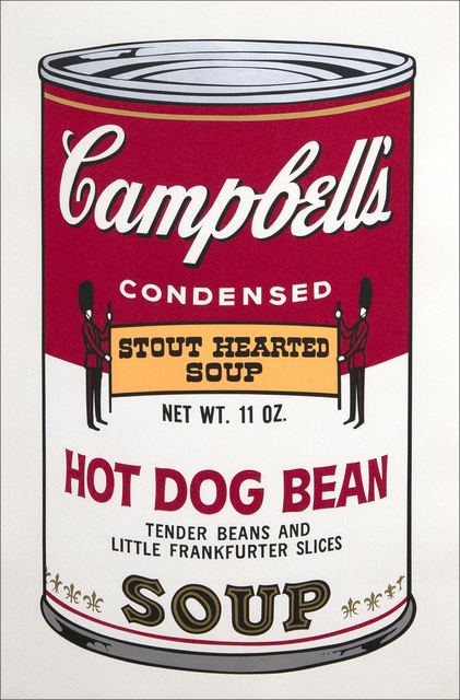Andy Warhol, 'Hot Dog Bean', 1969, Heather James Fine Art