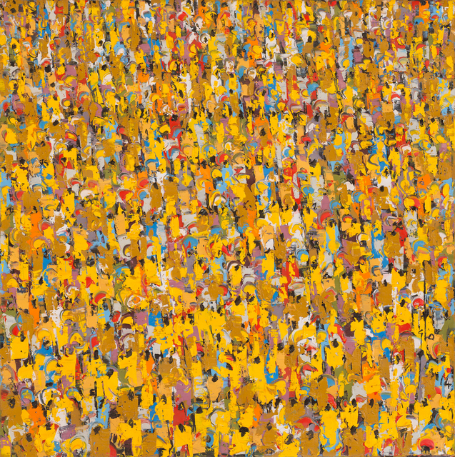 , 'Yellow People II,' 2014, October Gallery