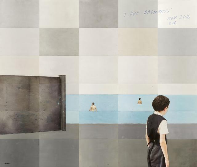 , 'I due bagnanti,' 2016, Edwynn Houk Gallery
