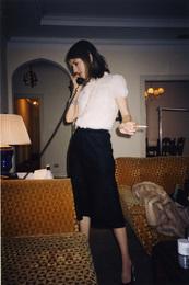 Sofia Coppola at The Chateau Marmont, February 2004