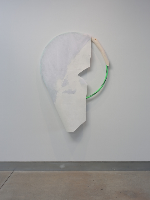 , 'A Pole and A Hoop, Not a Circle,' 2014, di Rosa