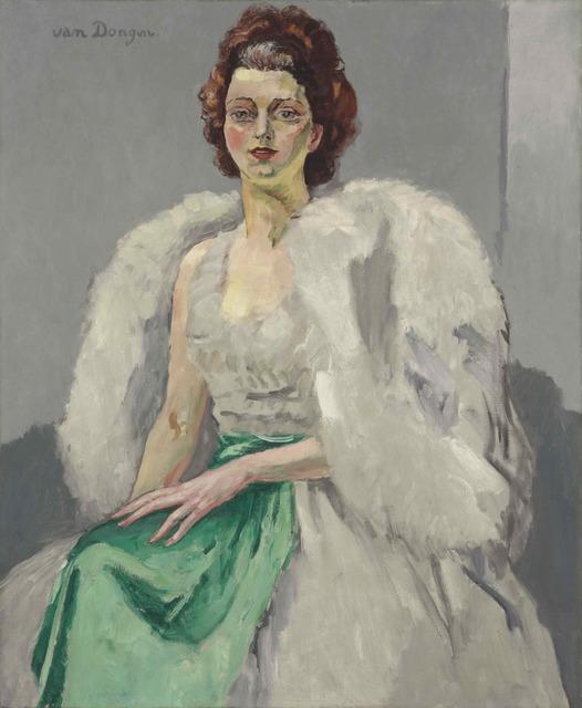 , 'Portrait de Flore Maleau Lesieur,' 1920, SmithDavidson Gallery