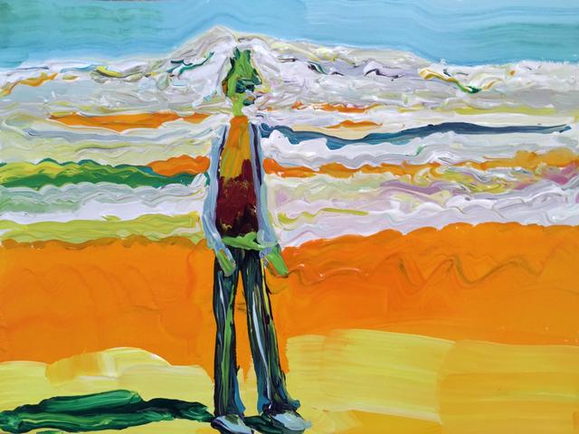 , 'Newton Thukpa,' 2016, Luis De Jesus Los Angeles