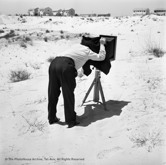 , 'a photographer on the dunes,' 1962, °CLAIR Galerie
