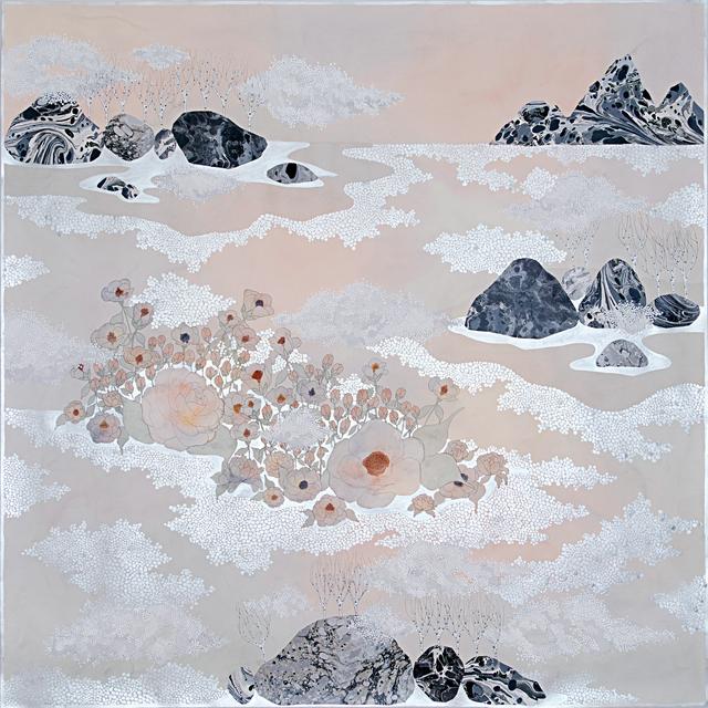, 'the fog, ''huddling together'',' 2019, Galerie du Monde