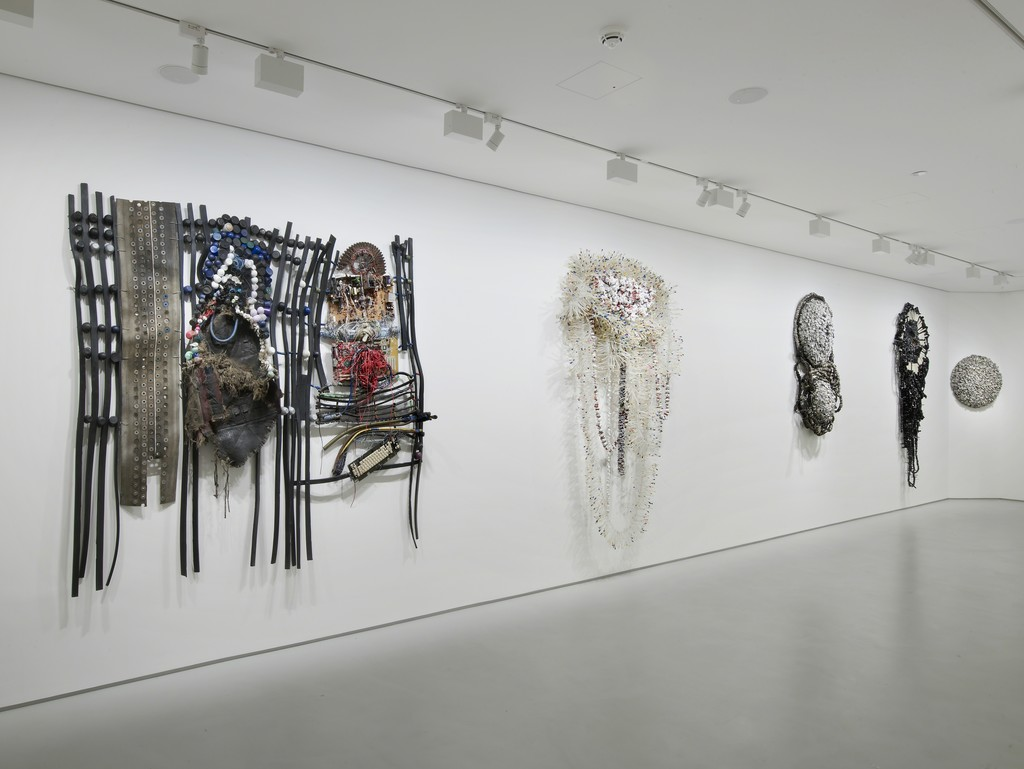Moffat Takadiwa: Foreign Objects, Exhibition view, Tyburn Gallery, 2015, Courtesy Tyburn Gallery