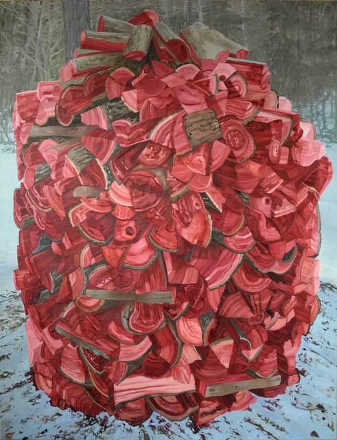 , 'Beehive Wood Pile,' , Maison Depoivre