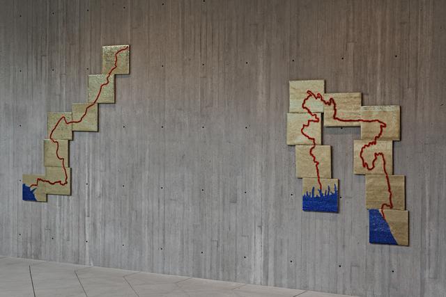 , 'Bloodlines,' 1997, (refabricated in 2011 by workshop of Abdul Khaliq, Saddar, Karachi), Jhaveri Contemporary