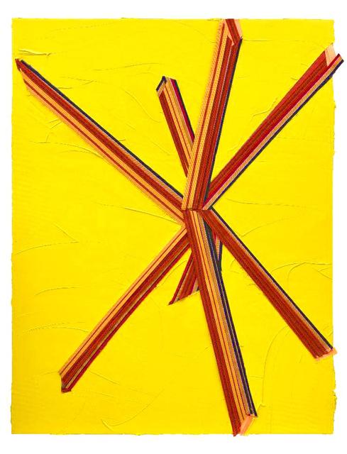 , 'RED CROSS,' 2018, Pékin Fine Arts