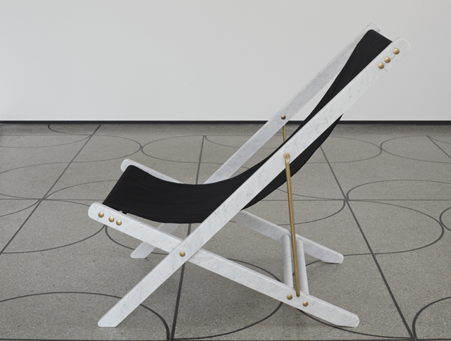 , 'Adaptations: Marble deckchair,' 2015, CAMP DESIGN GALLERY
