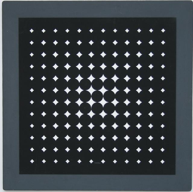 , 'Quadrature nr. 3,' 1960, Galerie Hans Mayer