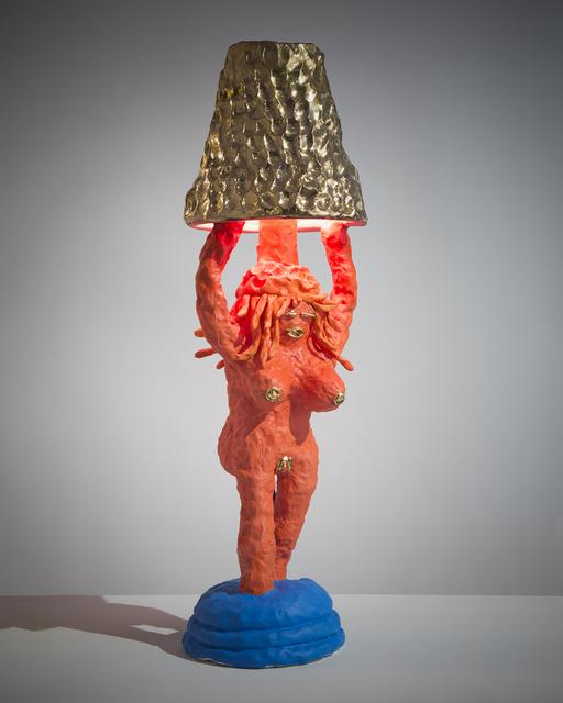 , 'Unique Girl Lamp,' 2017, R & Company