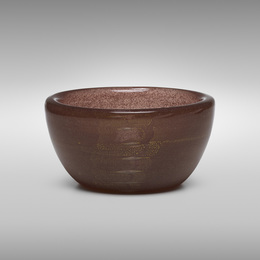 Sommerso a Bollicine bowl, model 3522