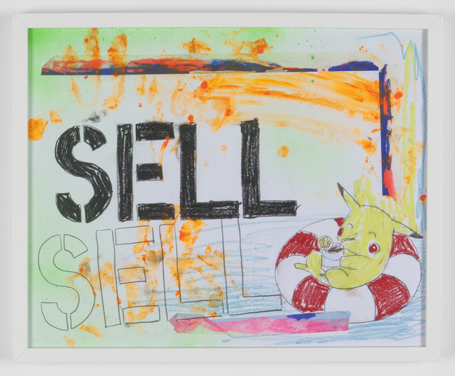 , 'SELL SELL,' 2016, Tatjana Pieters