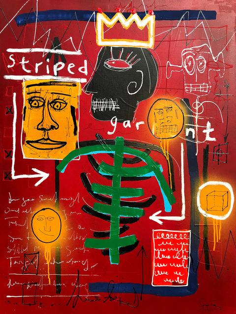 Soren Grau, 'Native In Striped Garment ', 2019, Artspace Warehouse