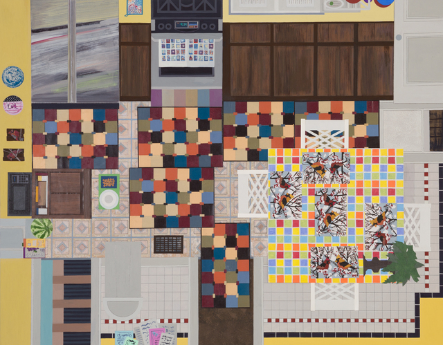, 'Area Rugs and Placemats,' 2015, Next to Nothing