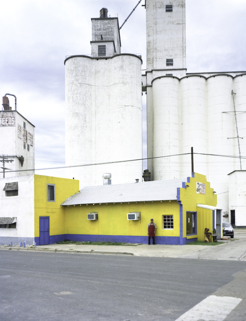 , 'North Texas: Grain elevators, Pastor Lopez, Michoacana restaurant,' 2010, PDNB Gallery