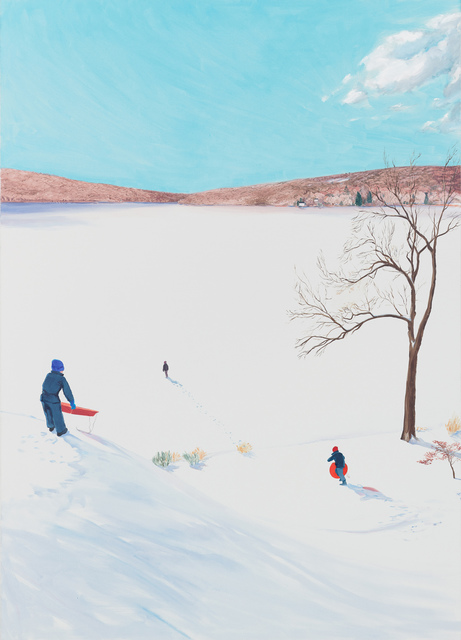 , 'Out on the Frozen Lake,' 2017, Tayloe Piggott Gallery
