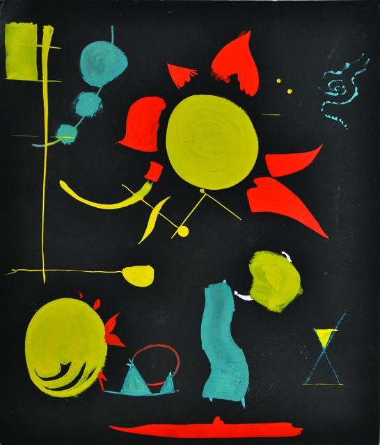 , 'Study for Fireworks,' 1945, Vallarino Fine Art