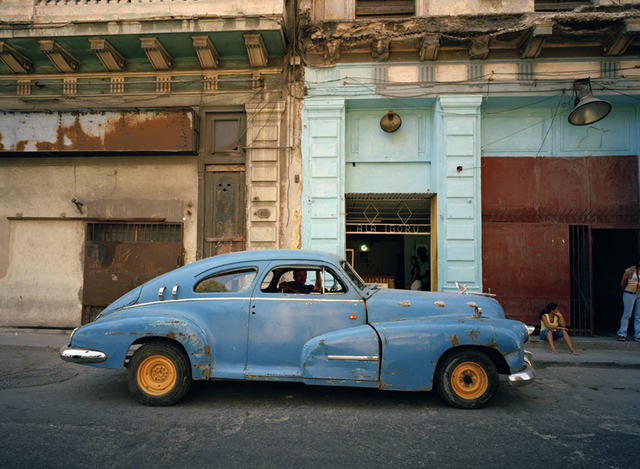 , 'Blue Car with Orange Wheels, Havana ,' 2002, Wall Space Gallery