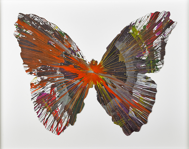 , 'Butterfly Spin Painting,' 2009, Opera Gallery