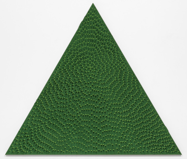 , 'The Priestess (Green and Light Green MT, Green Sand SF #1T, Green Ground),' 2018, Gagosian