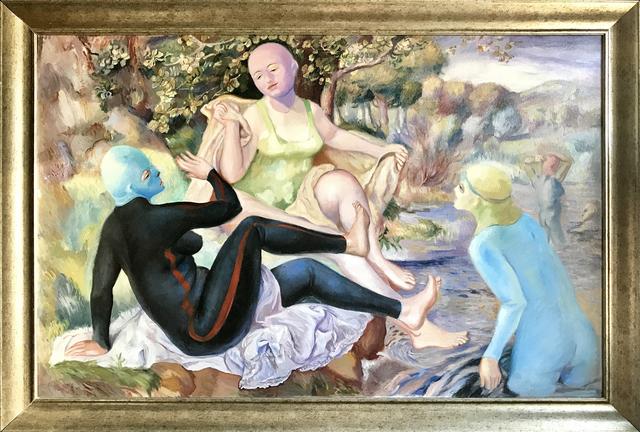 , 'The Safe Bathers 一切安全而隐秘的欲望,' 2013, ART LABOR Gallery