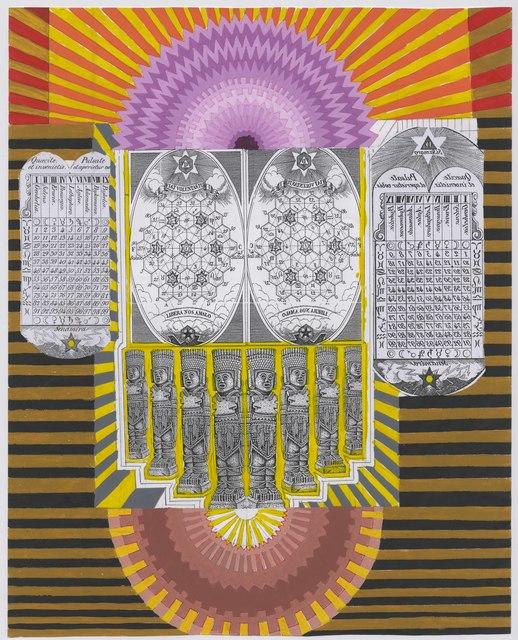 , 'Toltefiquización de la lotería de Zaratustra,' 2015, MAIA Contemporary