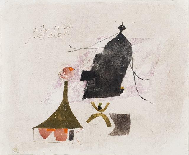 , '1.Sept.60 haj,' 1960, Galerie Carzaniga